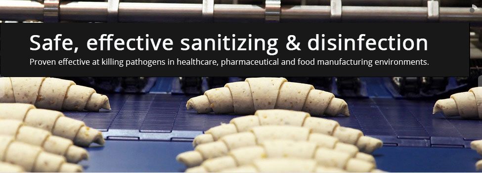 Safe, effective sanitizing & disinfection